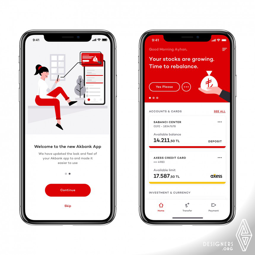 Great Design by Akbank