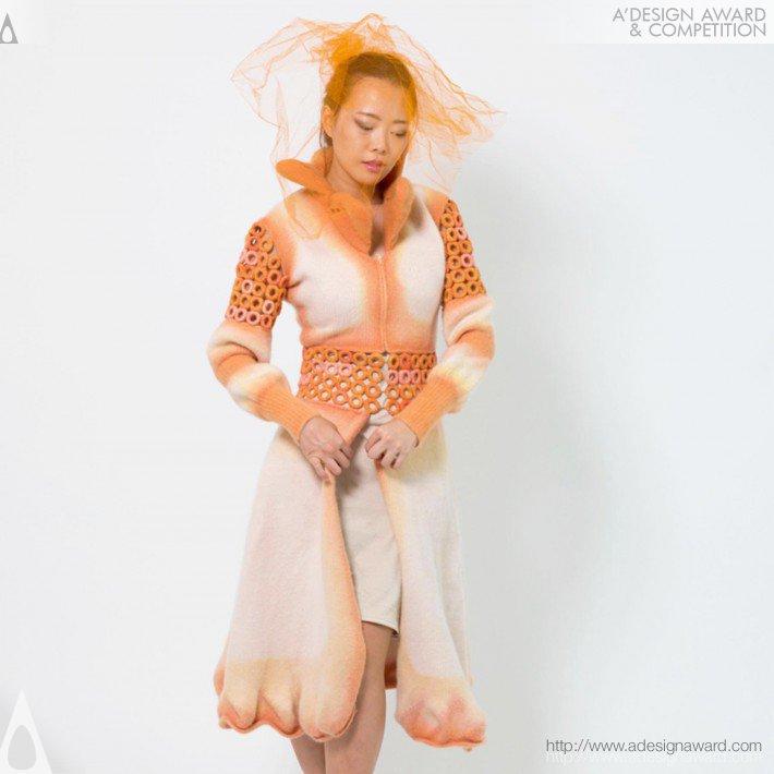 Dimensional Knit (Winter Dress Coat Design)