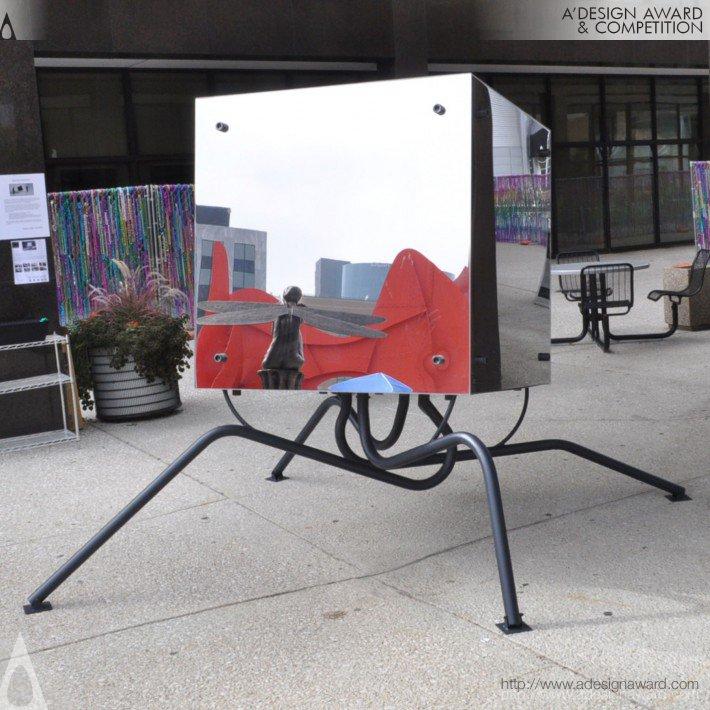 El Soporte Del Cubo (Sculpture Design)