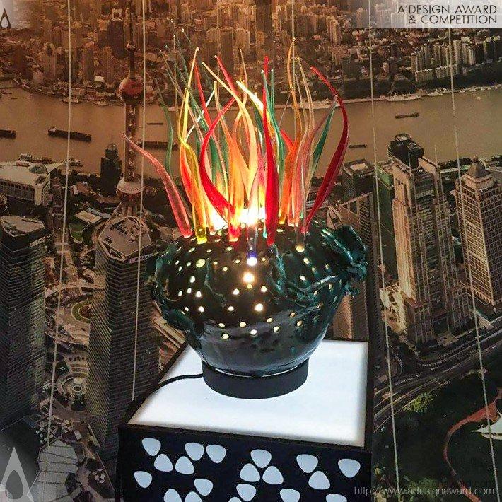 """""""luce&quot (Scultura-Lampada Design)"""