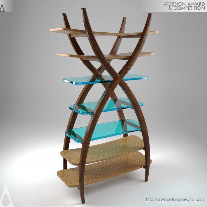 Aero (Bookcase Design)
