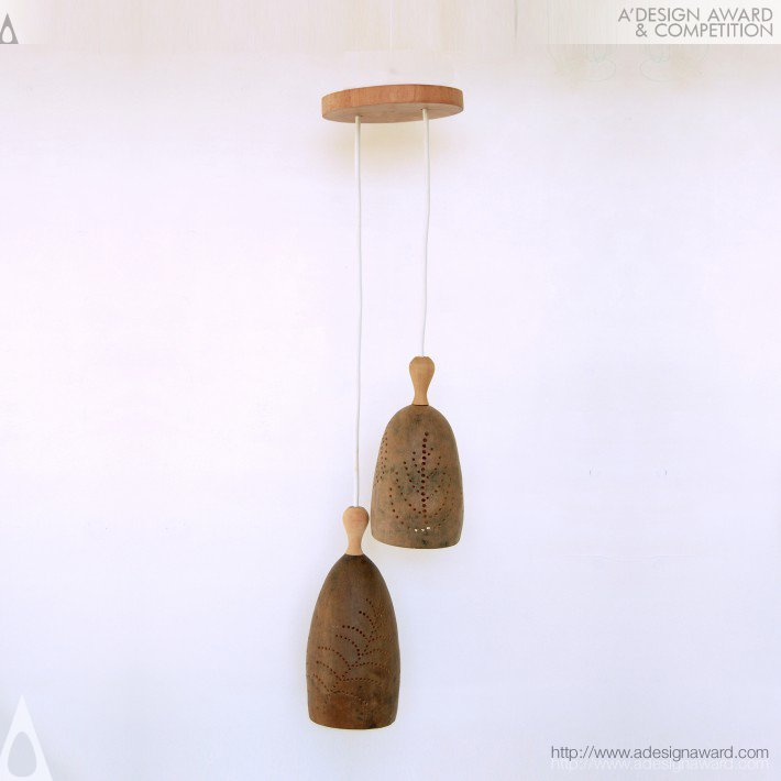 Roberto and Fabiana - Tree Pod Pendant Light