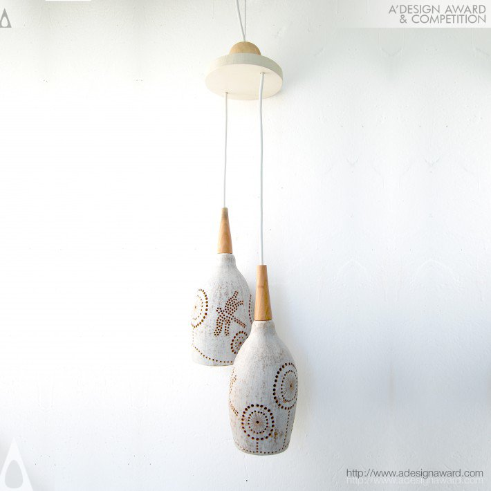 Tree Pod Pendant Light by Roberto and Fabiana
