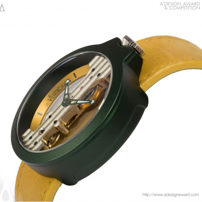 Atto Verticale (Mechanical Watch Design)