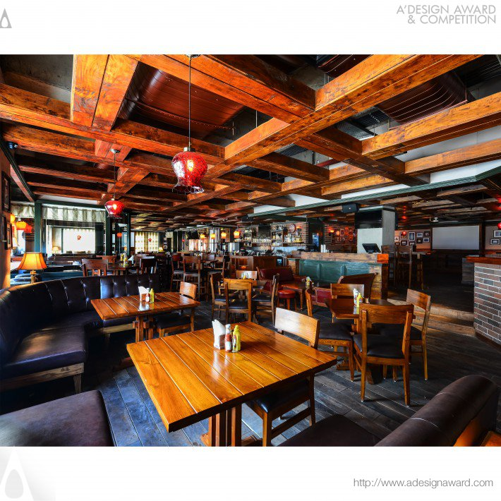Fantom (Restaurant and Bar Design)