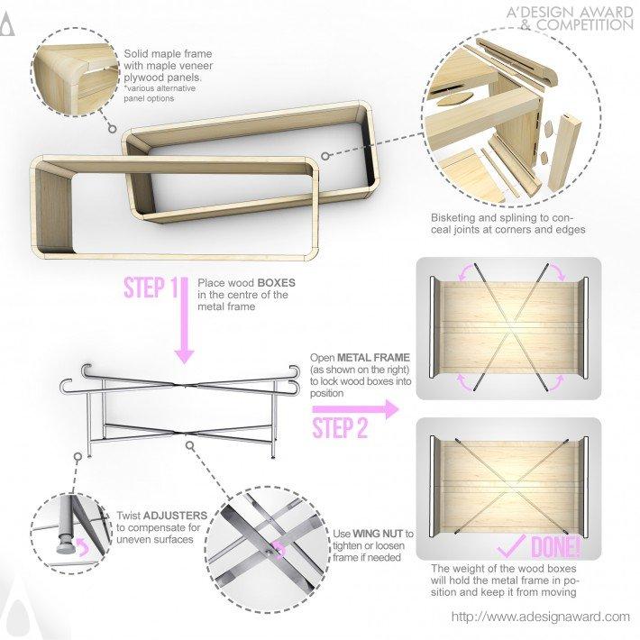 Spontaneous | Kinetic Kontraption (Multi-Functional Table Design)