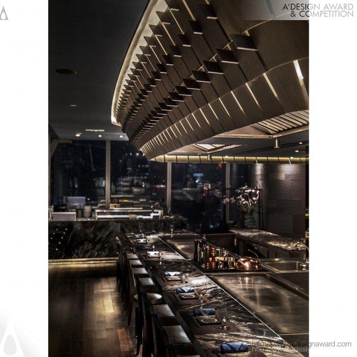Kamon Teppanyaki (Restaurant Design)