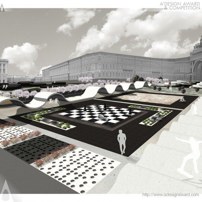 Winter Palace Square (Square Design Urban Planning Design)
