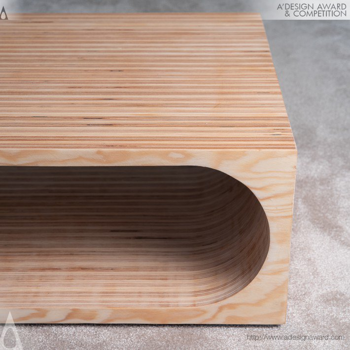 Kristof De Bock - Planck Coffee Table