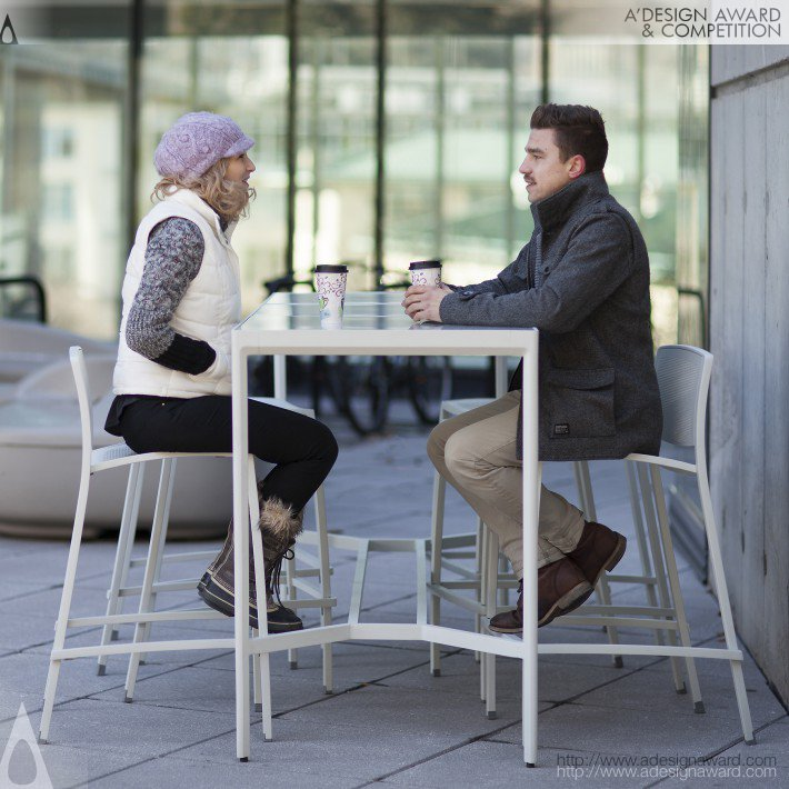 Avivo (Cafe Seating Design)