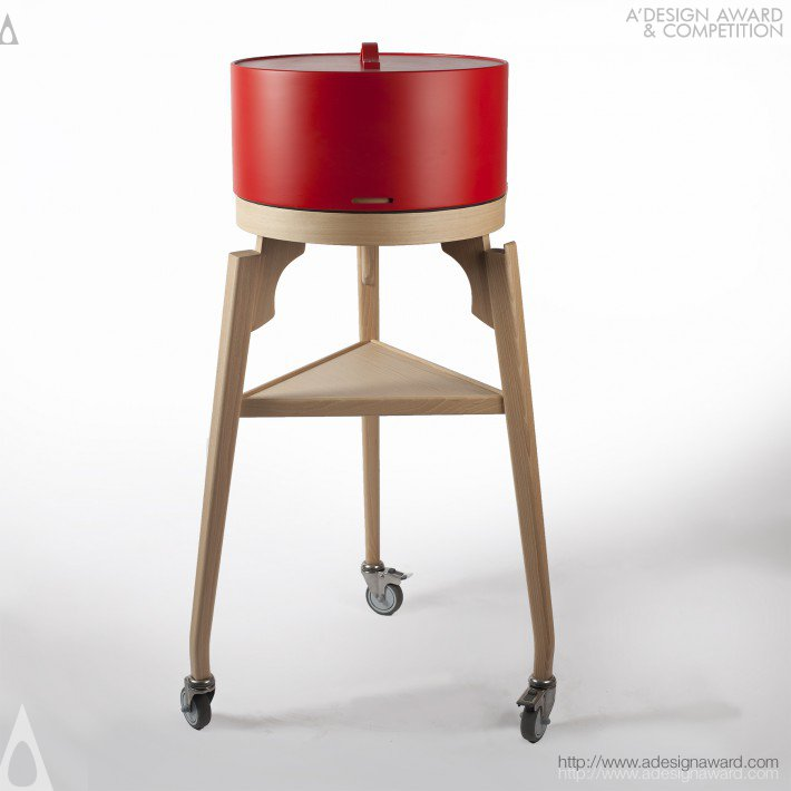Coq (Chilled Cheese Trolley Design)