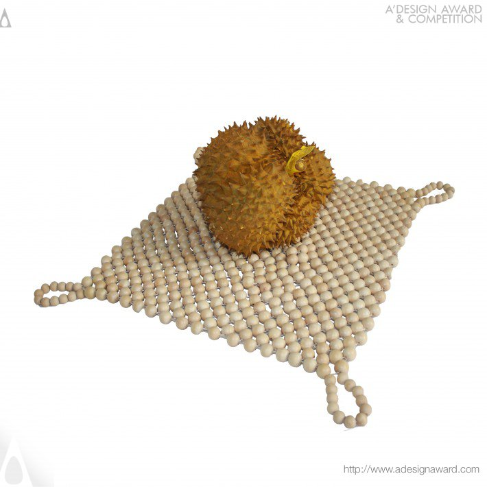 Safe Durian Net Bag by Qiu Liwei