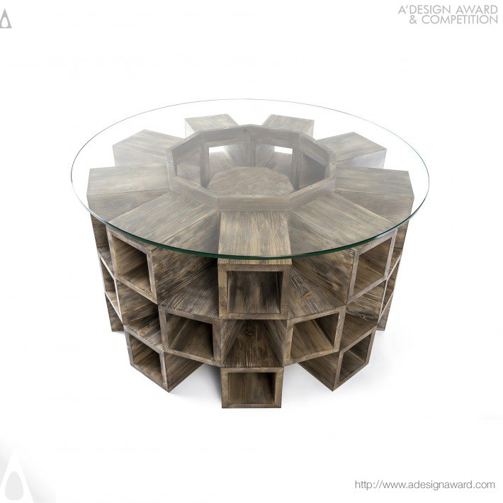 Attila Stromajer - Fireplace Table
