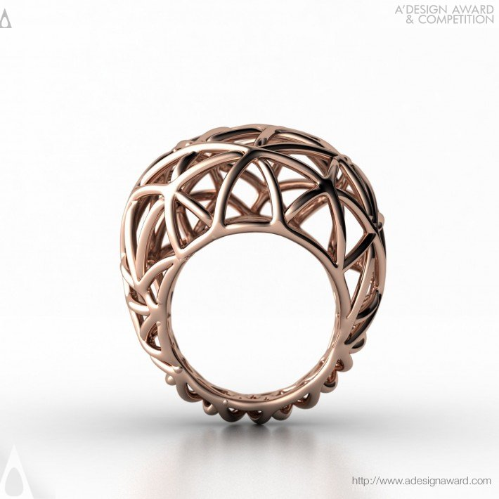 Bird Nest (Gold Ring Design)