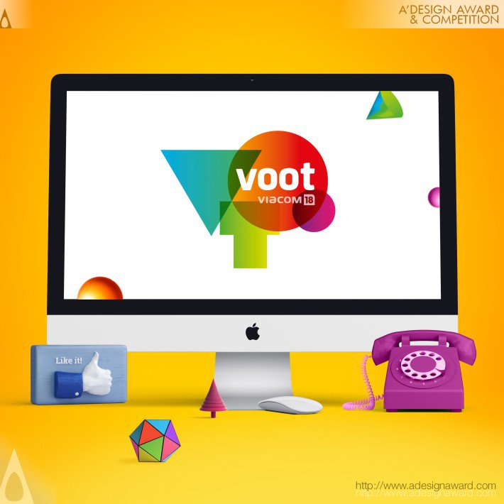 d950ff2be4b3c3 A  Design Award and Competition - Voot Brand and Visual Identity ...