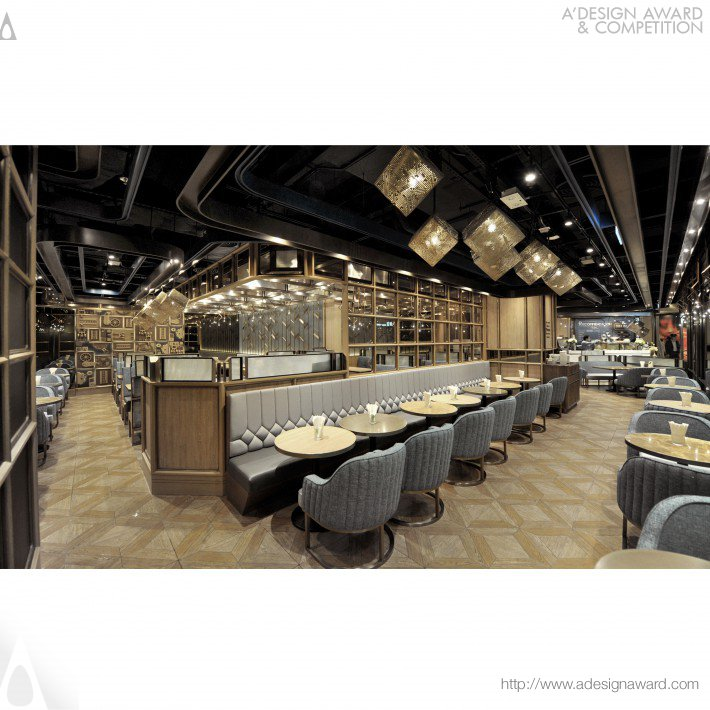 Teawood-East Point City (Cafe and Restaurant Design)