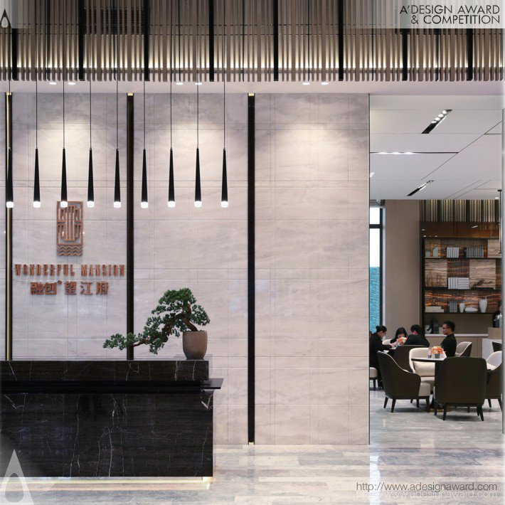 Rongchuang Riverview Sales Ctenter (Sales Center Design)