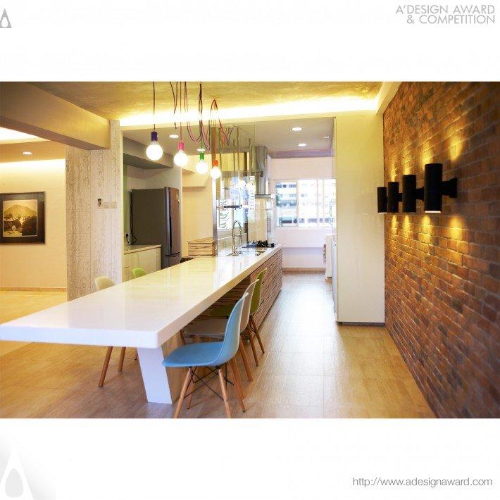 Chua Chu Kang House (Interior Space Design)