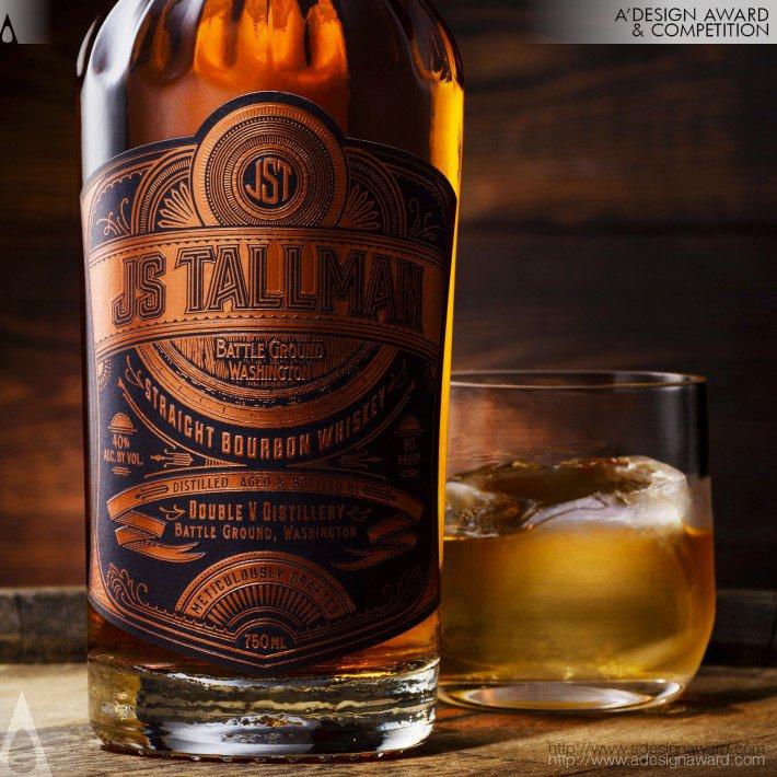 Js Tallman Bourbon (Packaging Design)