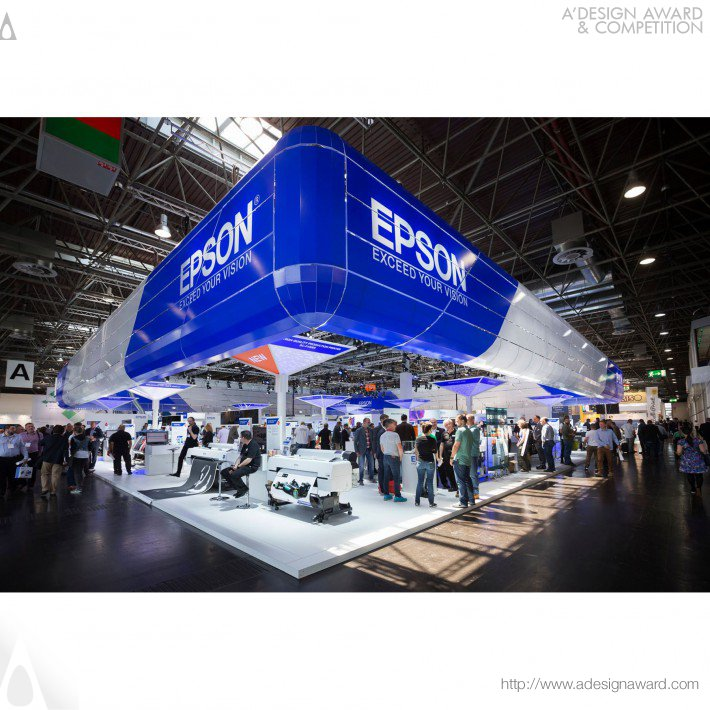 Ton Wittebol - Epson Drupa2016 Exhibition Stand