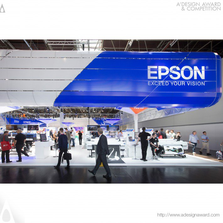 Epson Drupa2016 Exhibition Stand by Ton Wittebol