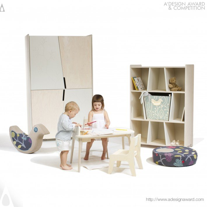 Bird&berry Collection Baby Furniture by Aija Priede-Sietina and Daneks Sietins