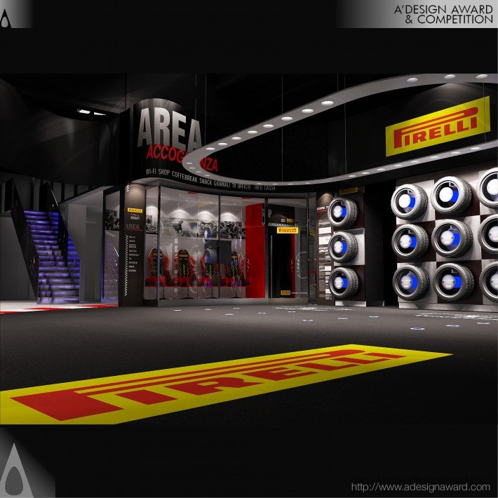 Pirelli Tyres Shopping Experience (Shop Concept Design)