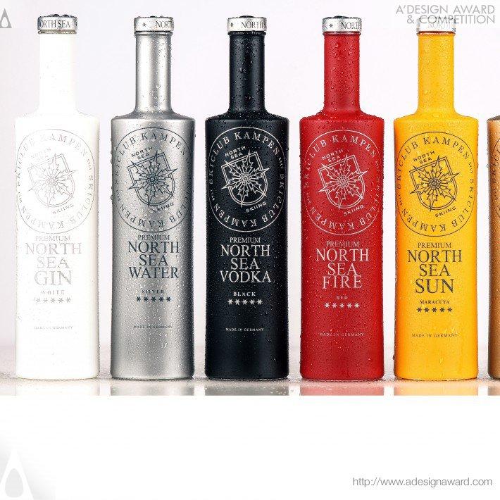 North Sea Spirits (Bottle Design)
