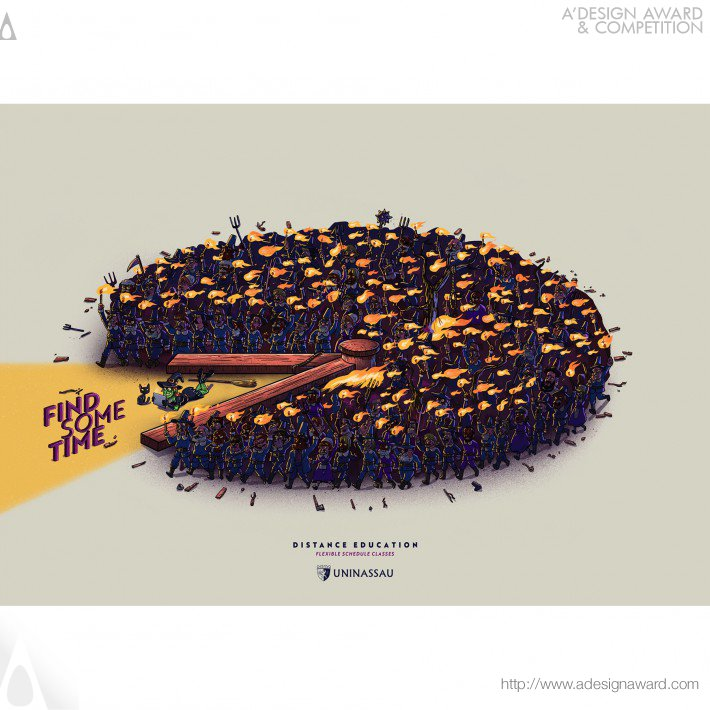 Daniel da Hora - Find Some Time Advertising Campaign