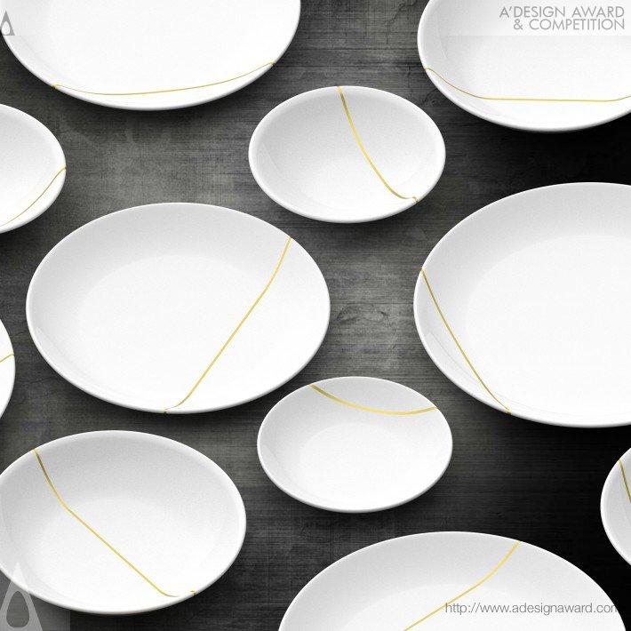 Kintsugi (Tableware Set Design)