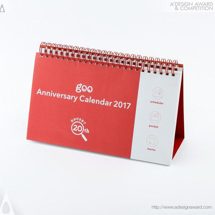 Goo Anniversary Calendar 2017 (Calendar Design)