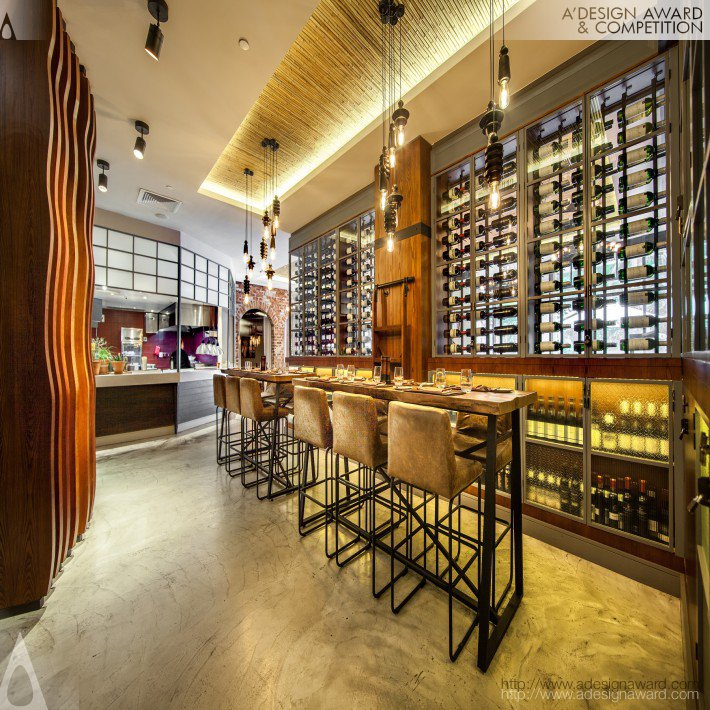Big Easy Winebar and Grill (Restaurant Design)