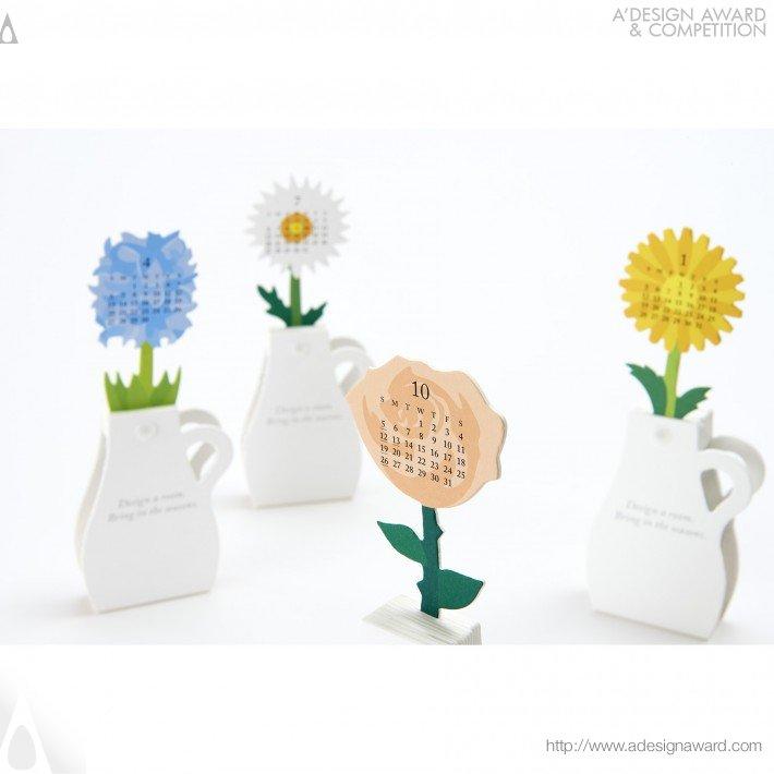 "Calendar 2014 ""flowers"" (Calendar Design)"