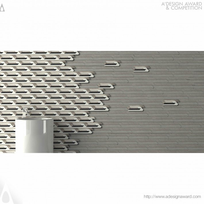 Decorative Natural Wall Lining by Sule Koc