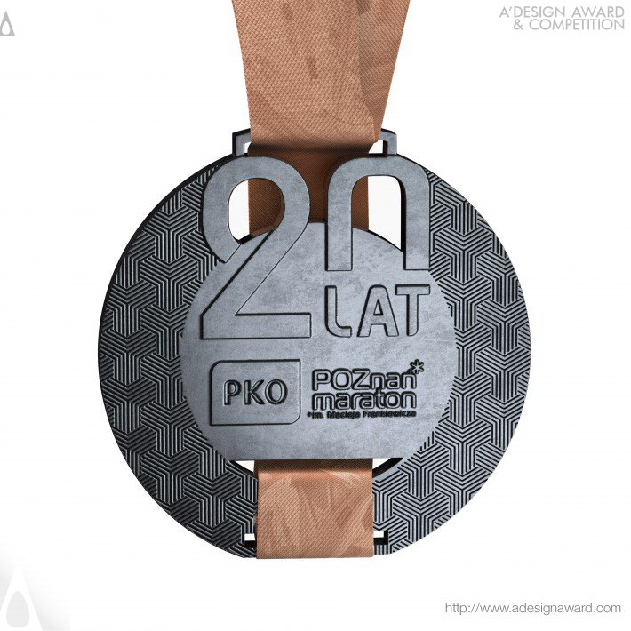 poznan-marathon-medal-by-artmask-group