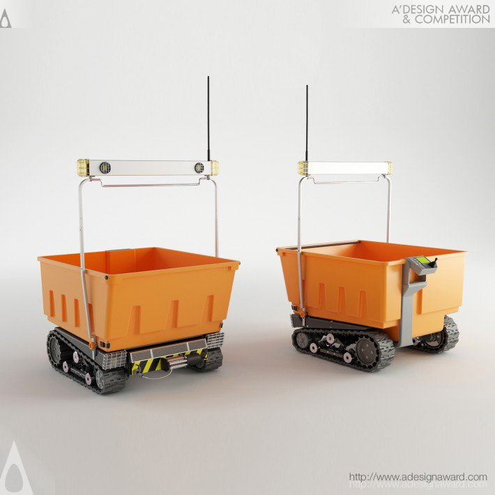 Eco Barrow (Unmanned Electric Vehicle Design)