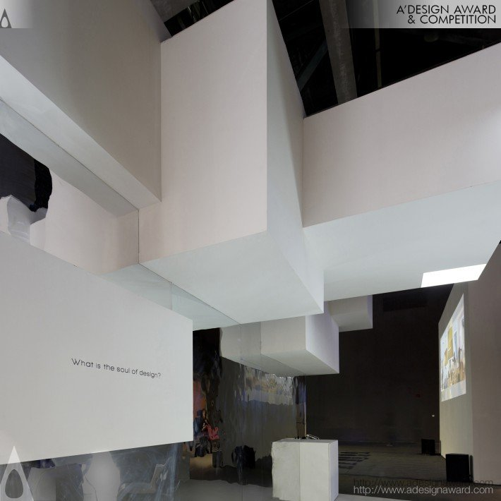 Exhibition Space by Zheng Peng