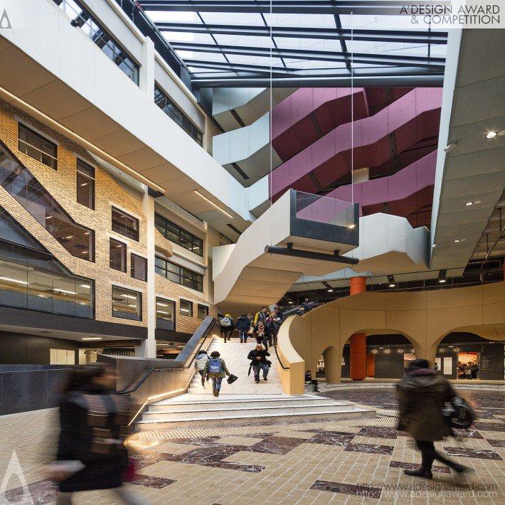 University of Melbourne-Arts West (Upholstered Acoustic Panels Design)