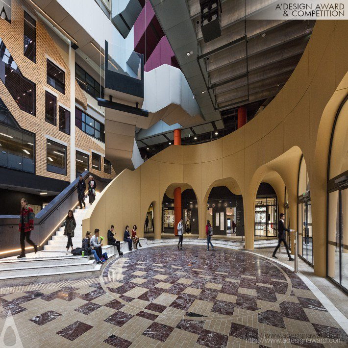 University of Melbourne-Arts West by Peter Rattle for CUS (Vic) Pty Ltd