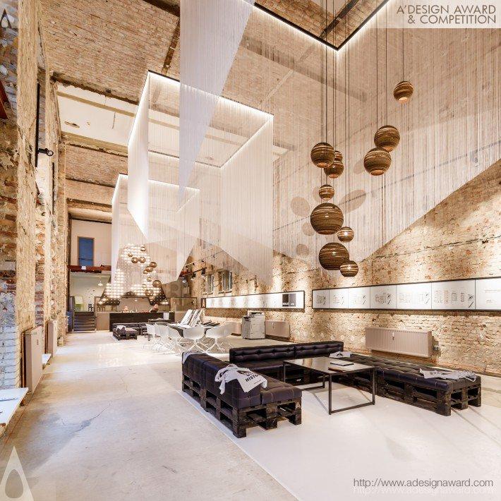 A Space (Temporary Showroom Design)