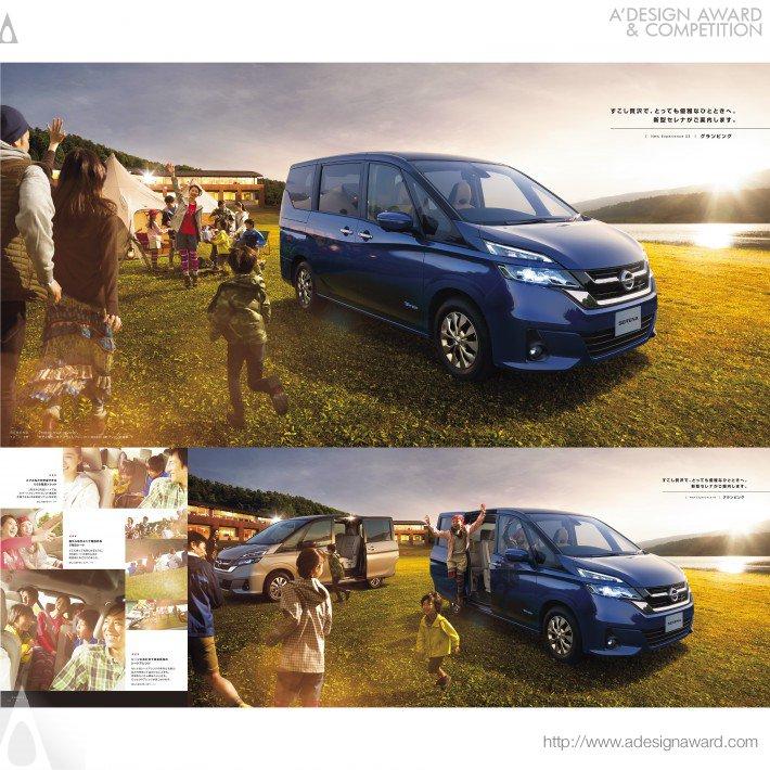 Nissan Serena (Brochure Design)