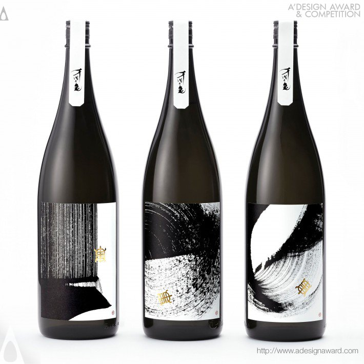 Souryu Sake Package Design by Yoshiki Uchida