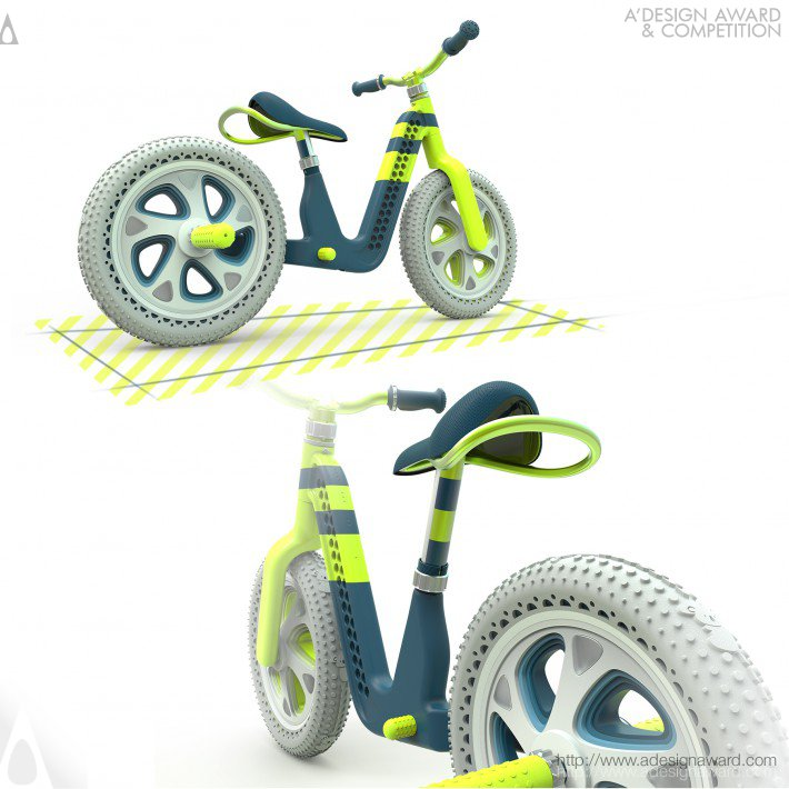 Ako Balance Bike by Corentin Bricout