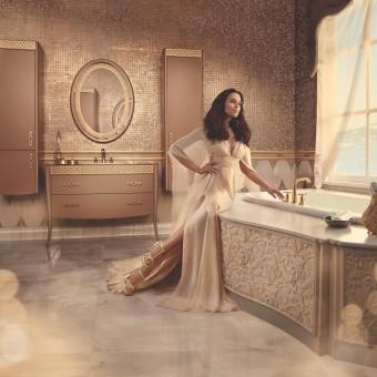 SARAYLI (OTTOMAN) Bathroom Furniture Set & Ceramic Tiling