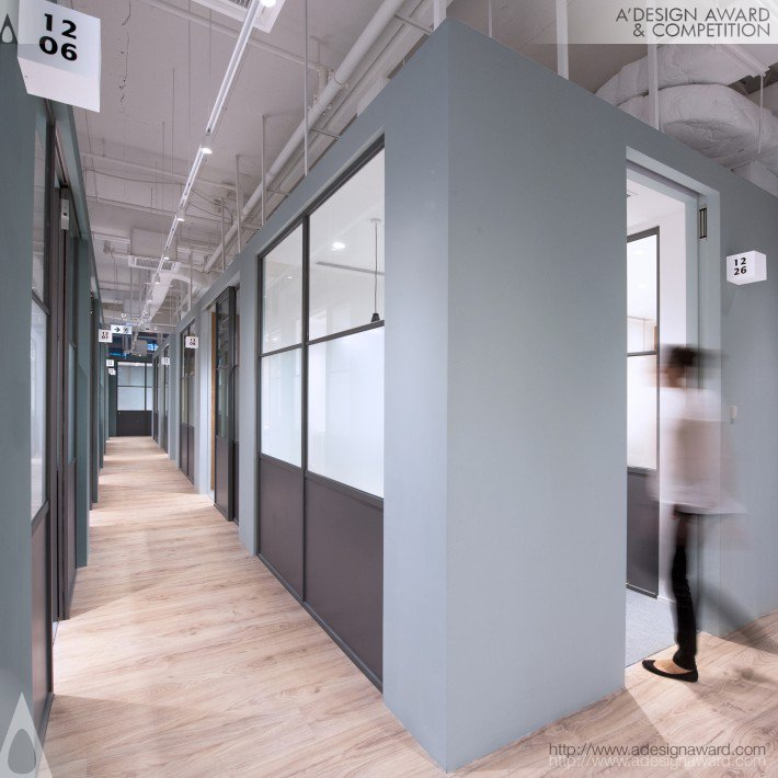 The Work Project (Coworking Space Design)