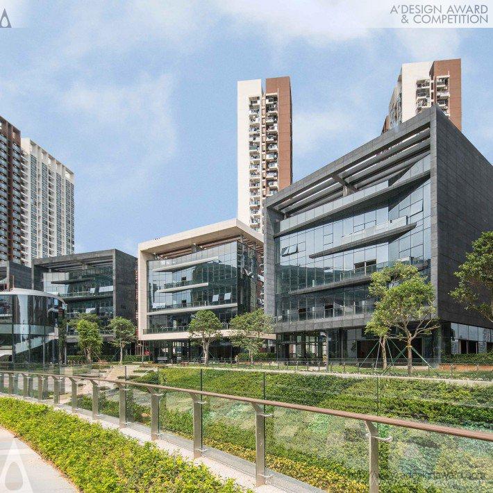 Qianhai Shenzhen-Hong Kong Fund Town by Leigh & Orange Limited