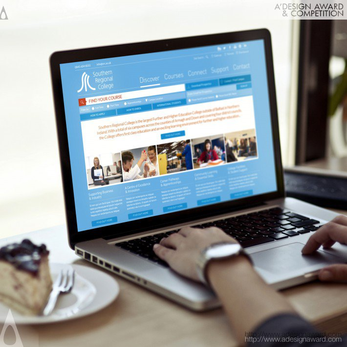 Southern Regional College (E-Learning Website Design)