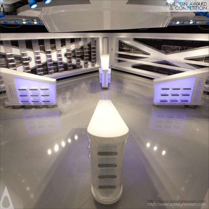 From The Future (Showroom, Retail Design)
