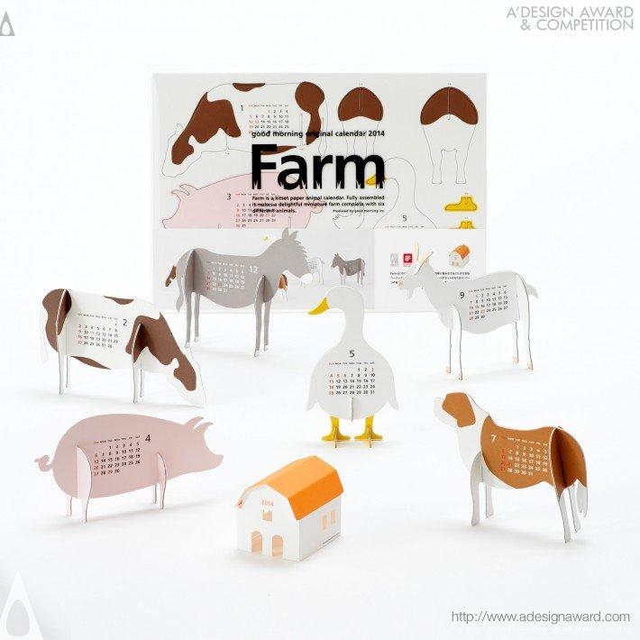 "Calendar 2014 ""farm"" (Calendar Design)"