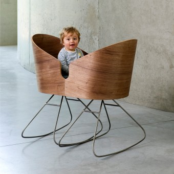 Dimdim Cradle, Rocking Chairs By Lisse Van Cauwenberge